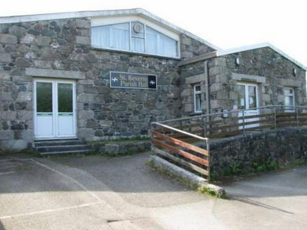 St Keverne Parish Hall received £2,000 from the charity car park funds