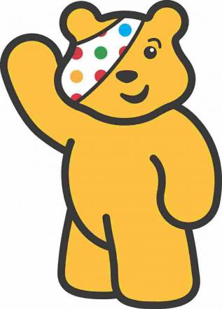 Pudsey Bear to cut the ribbon at Camborne Post Office