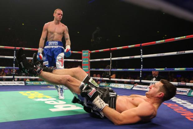 Falmouth Packet: Groves floors Froch in round one