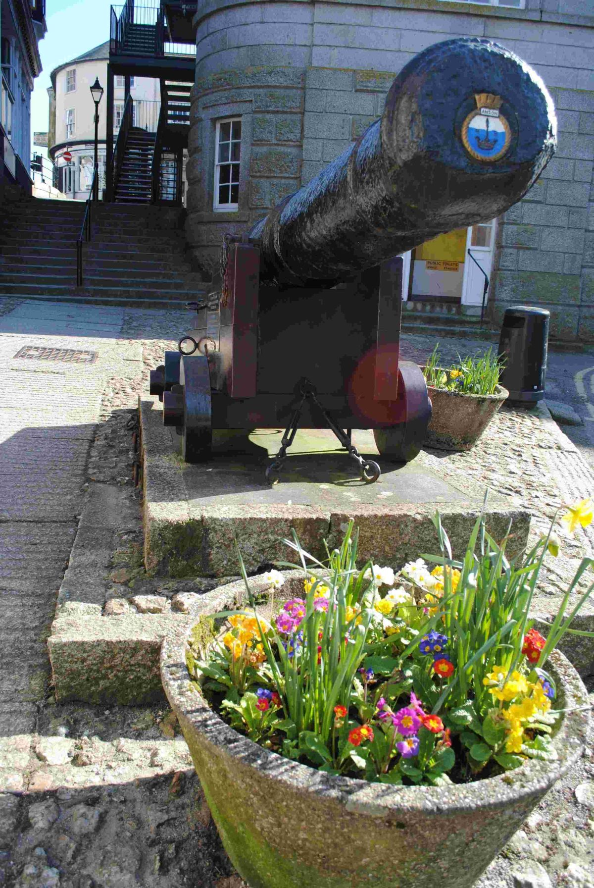 Is Helston Museum cannon move on the cards?
