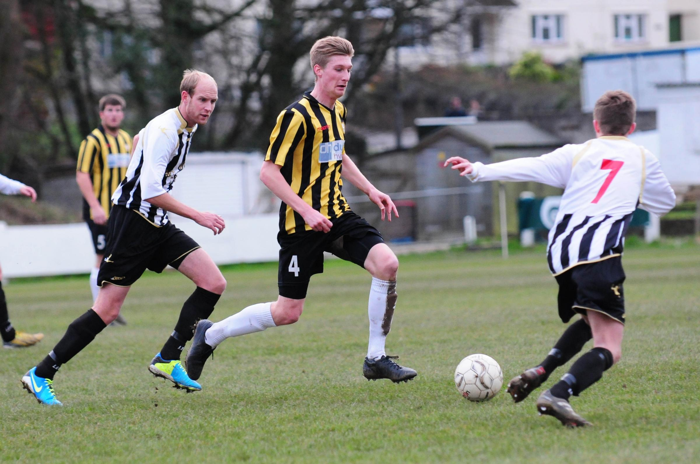 Town reserves beaten by Illogan, but Porthleven secure vital win over Penryn - JCCL, December 7. Picture: Phil Ruberry.