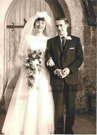 Couple with passion for Penryn Rugby Club celebrate golden wedding anniversary