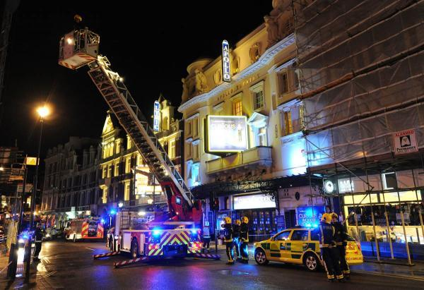 Helston students were in Apollo Theatre hours before collapse