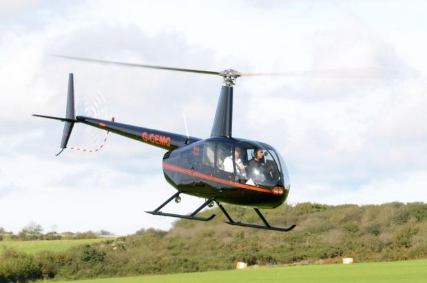 Cornish helicopter charity offers its services in storms
