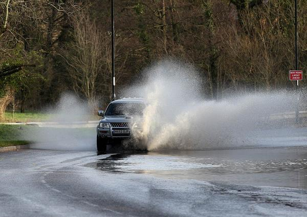 Firefighters called to floods across Cornwall yesterday evening