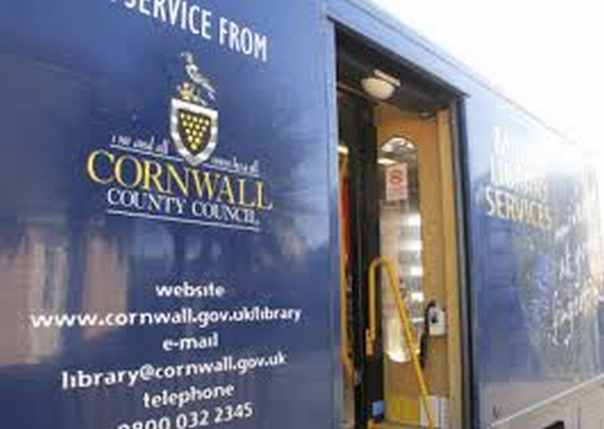 Is this the end of mobile library vans in Cornwall?