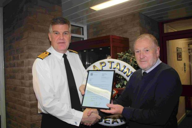 Culdrose driving instructor puts brakes on career after 40 years