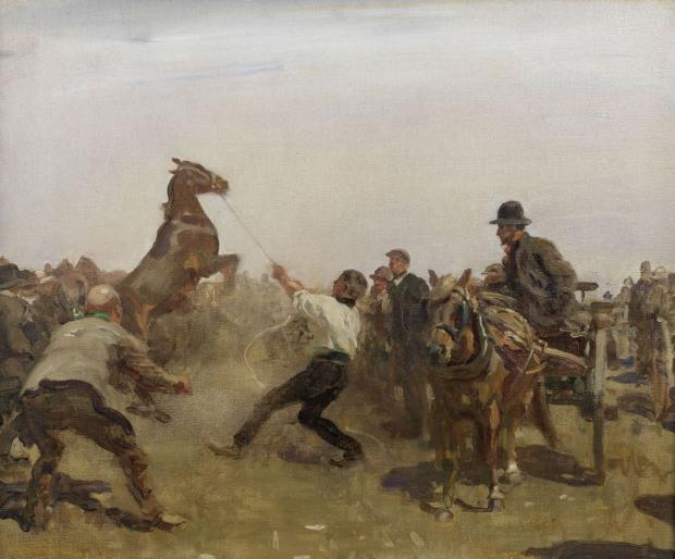 Famous painting by Lamorna group artist to go under the hammer at Bonhams