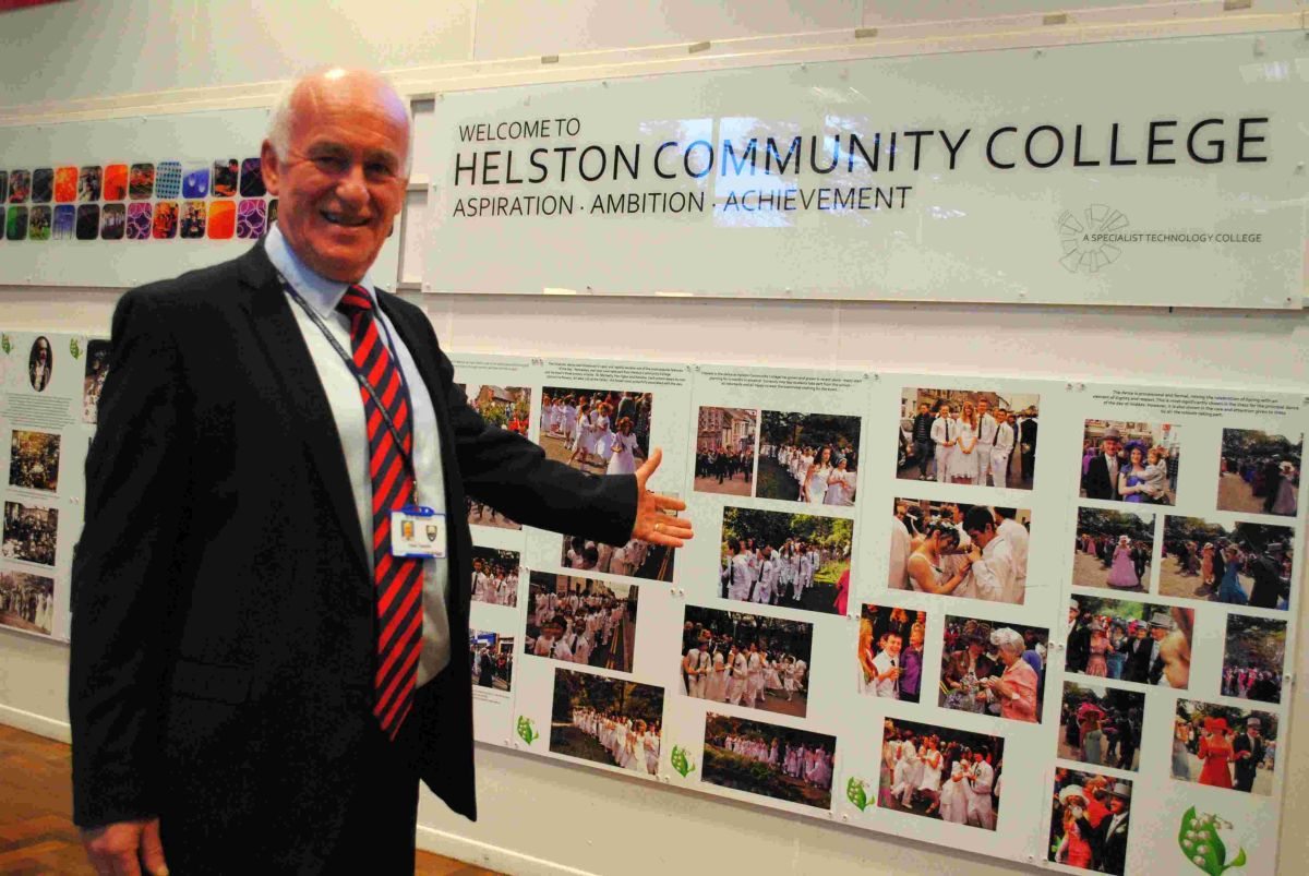 Helston College headteacher bows out after 11 years