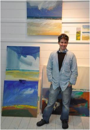 Partner and friends pay tribute to St Ives artist found dead on Constantine Beach