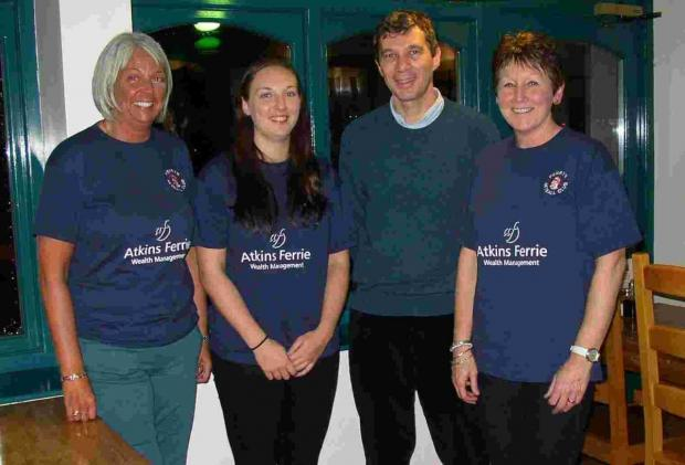 Penryn Netball Club supported by local businesess
