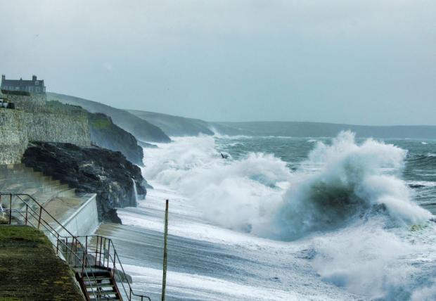 Falmouth Packet: Will central government help fund storm repair in Cornwall and Devon?