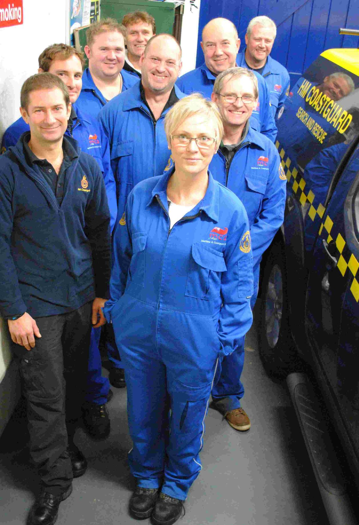 Porthleven woman shows being a Coastguard is not just for men