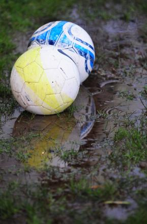 Rain badly affects weekend fixtures...again