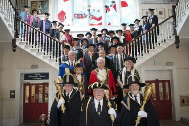 Competition to design Falmouth University ceremonial mace.