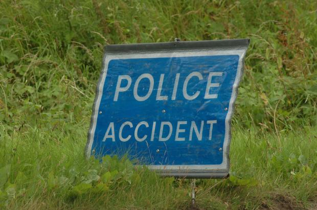 Emergency crews called to three vehicle crash on A30: Road closed