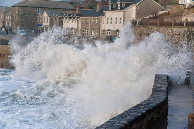 Falmouth Packet: It is not over yet... More weather warnings as 80mph gales and downpours forecast