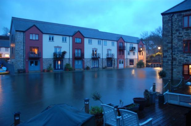 Falmouth Packet: High Tide in Penryn