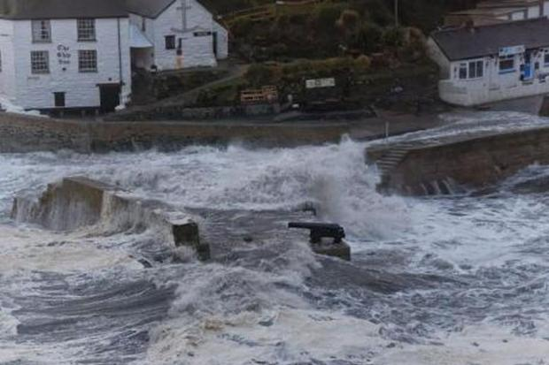 Cornwall's wild weather damage bills tops £14million, and it is not over yet