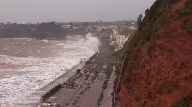 Rail travel in disarray as storm leaves Cornwall cut off
