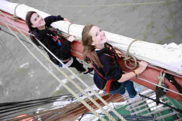 Tall Ships offer chance of a lifetime as hundreds of crew spots go up for grabs
