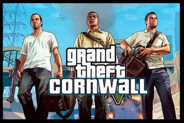 What if Grand Theft Auto was set in Cornwall. VIDEO