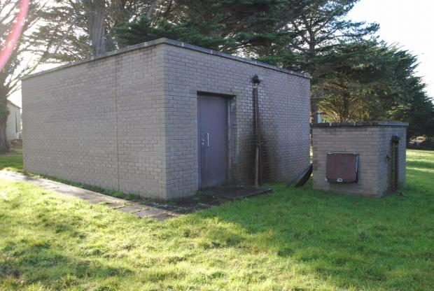 Secret underground nuclear bunker up for sale near Newquay