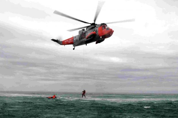 Culdrose search and rescue serviceman killed himself hours after police launched investigation.