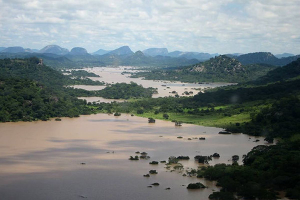Flooding in Masvingo province, Zimbabwe, February 2014. Image: David Coltart
