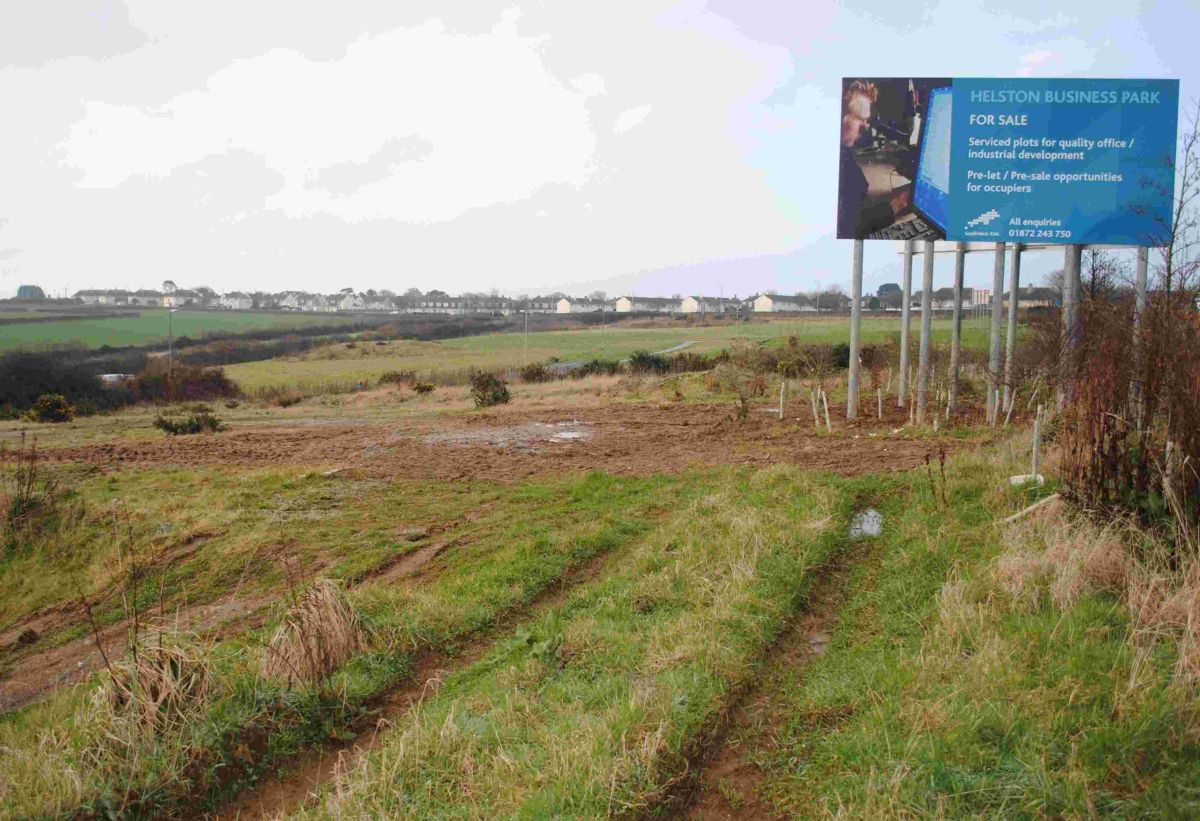 Government responds to concerns over homes plan for Helston Business Park