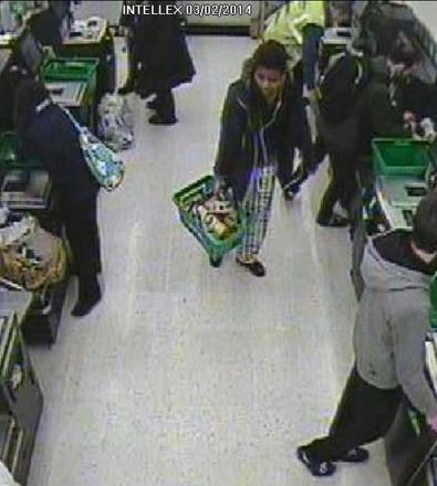 Can you help police identify this woman at Penryn Asda