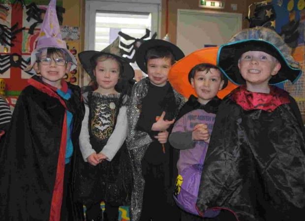Spooky shenanigans at Falmouth Primary: PICTURES