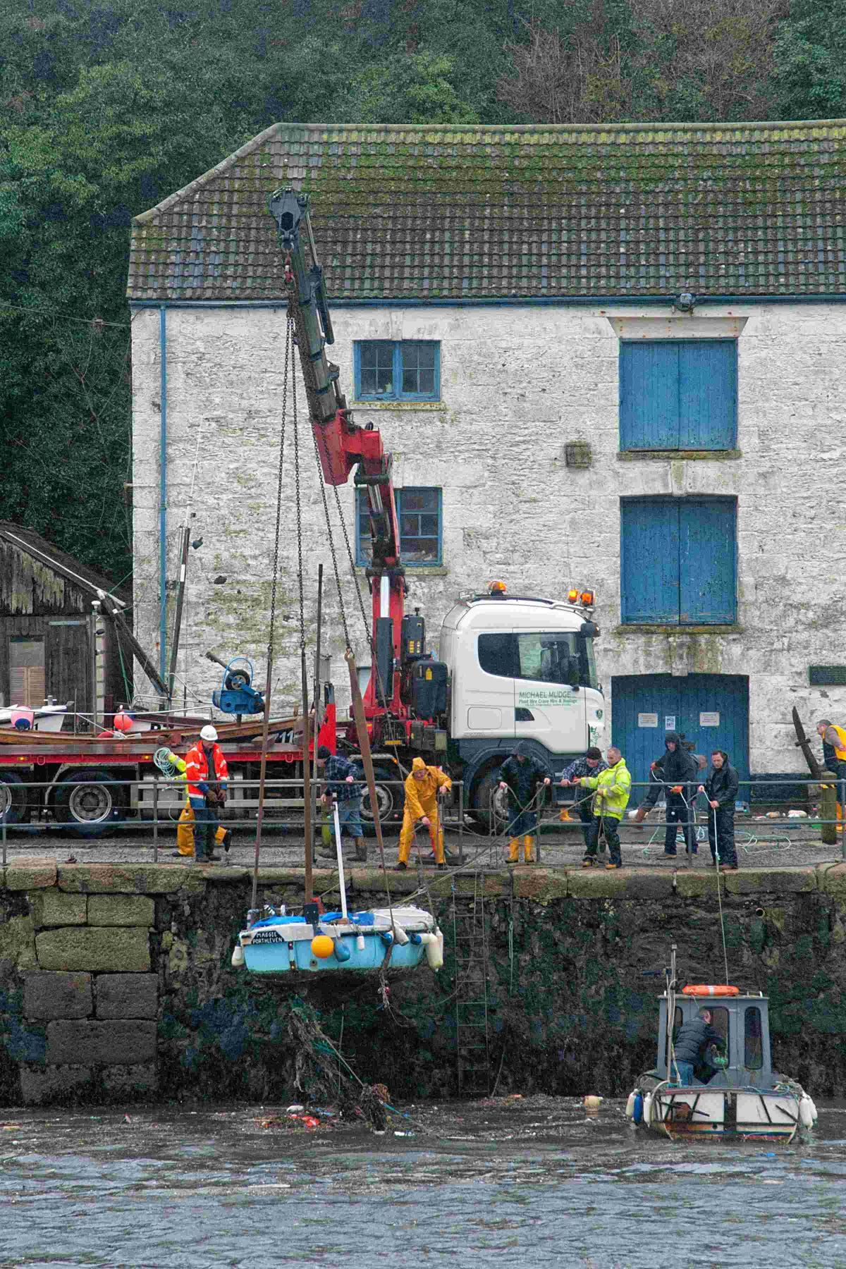 Cost of Porthleven harbour storm damage tops £100,000
