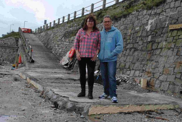 Summer reopening plan for storm smashed Castle Beach Cafe
