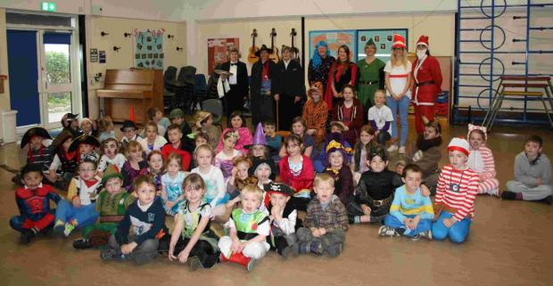 Helston and Lizard pupils celebrate World Book Day: PICTURES