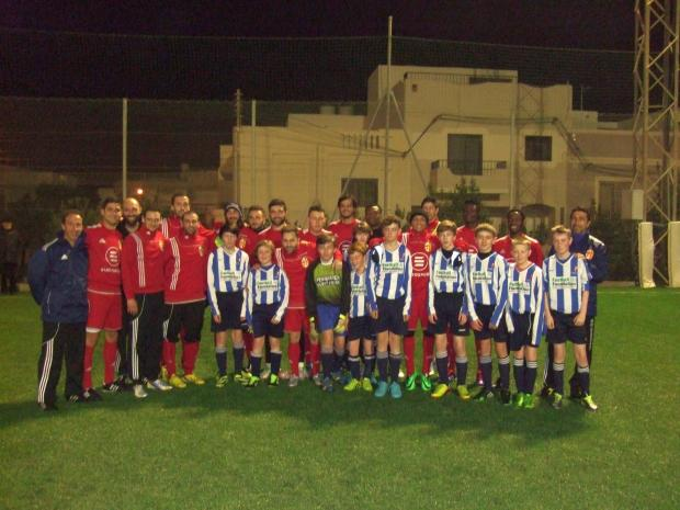 Falmouth School sports teams return from successful tour of Malta
