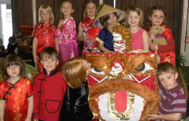 St Michael's pupils take 'trip around the world'