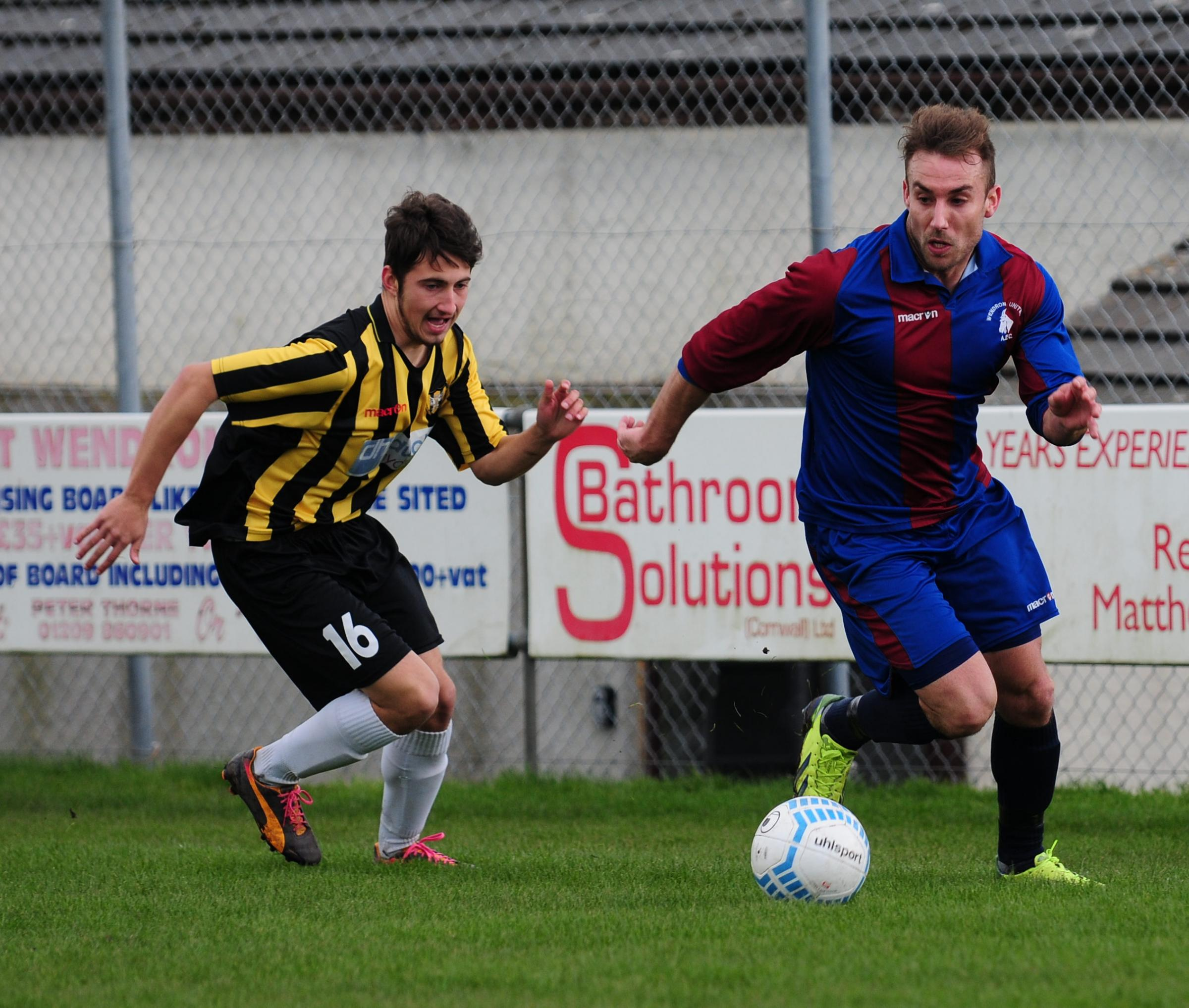 Wendron thrash Falmouth Town; Illogan come from behind to b