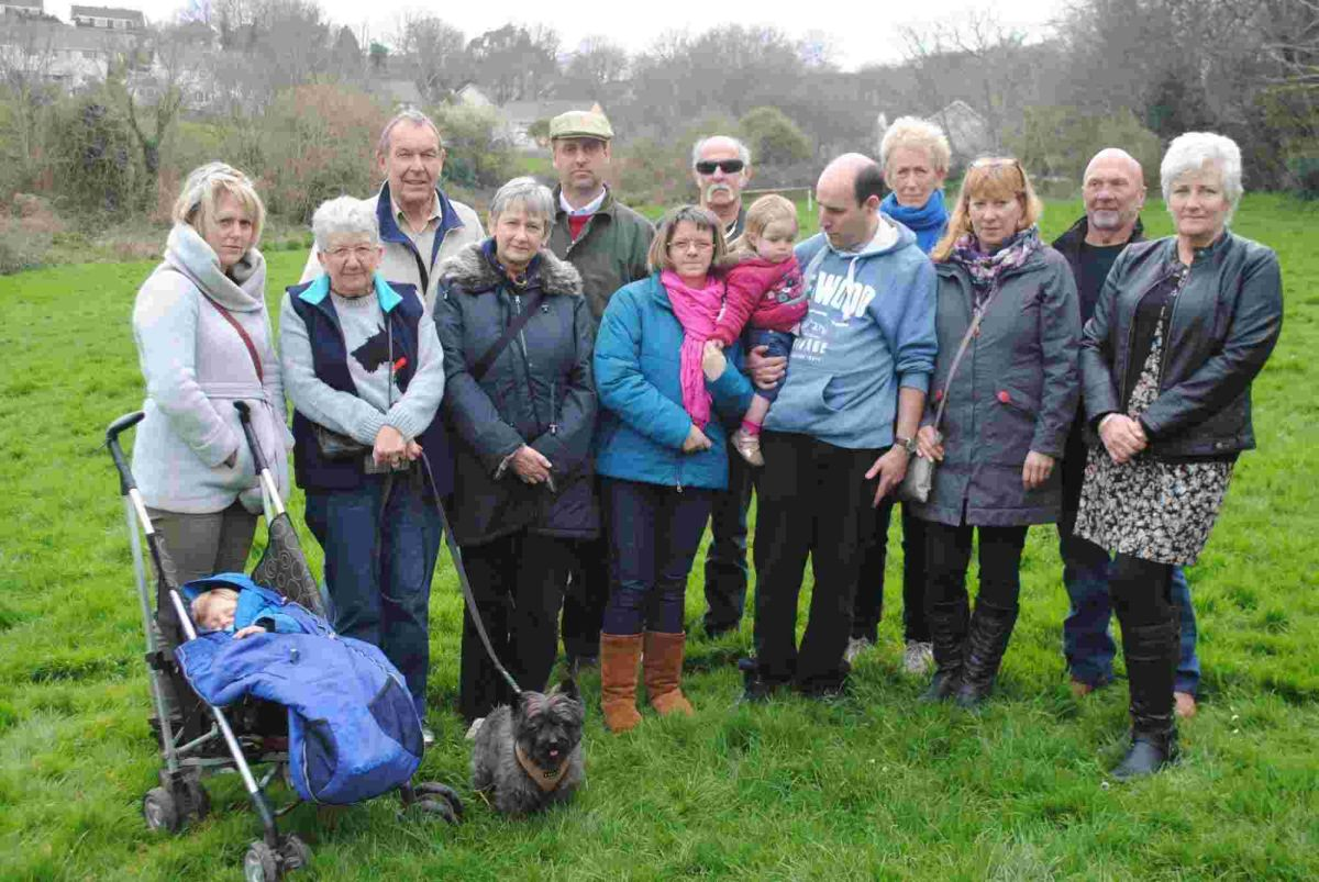 Bosvale campaigners appeal for support to 'save' field