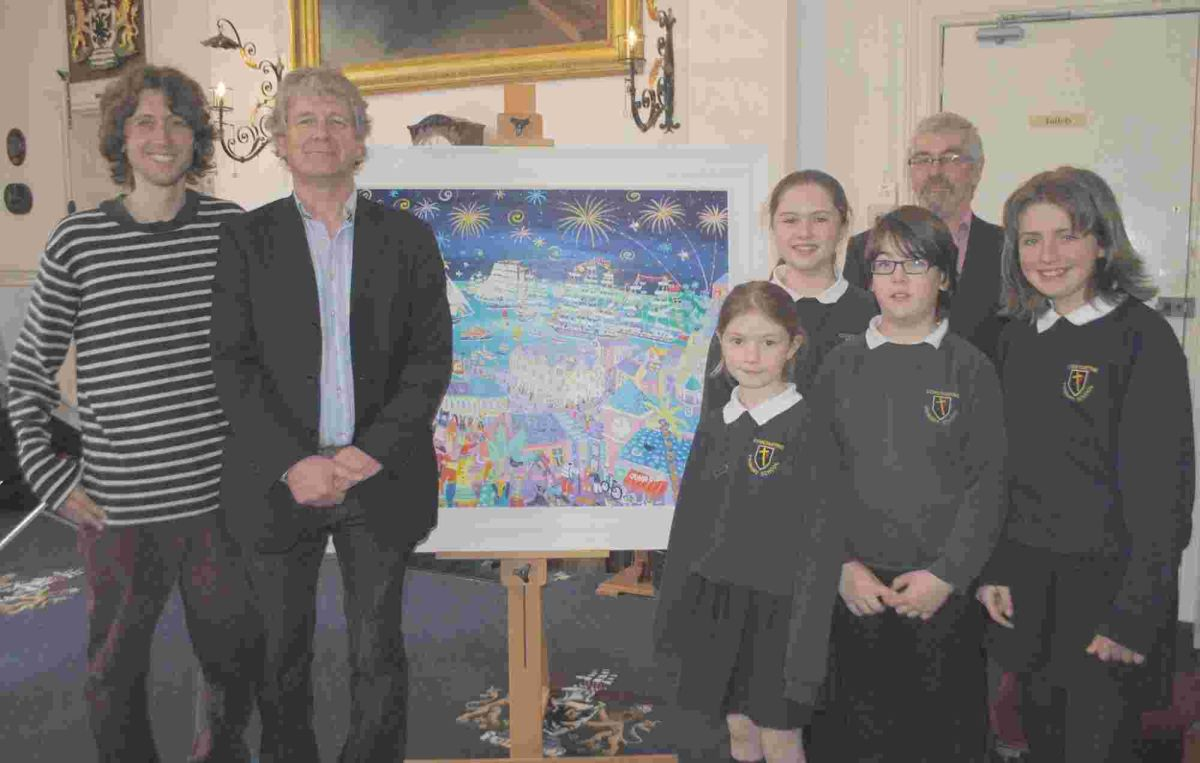 Children asked to tell Tall Ships story