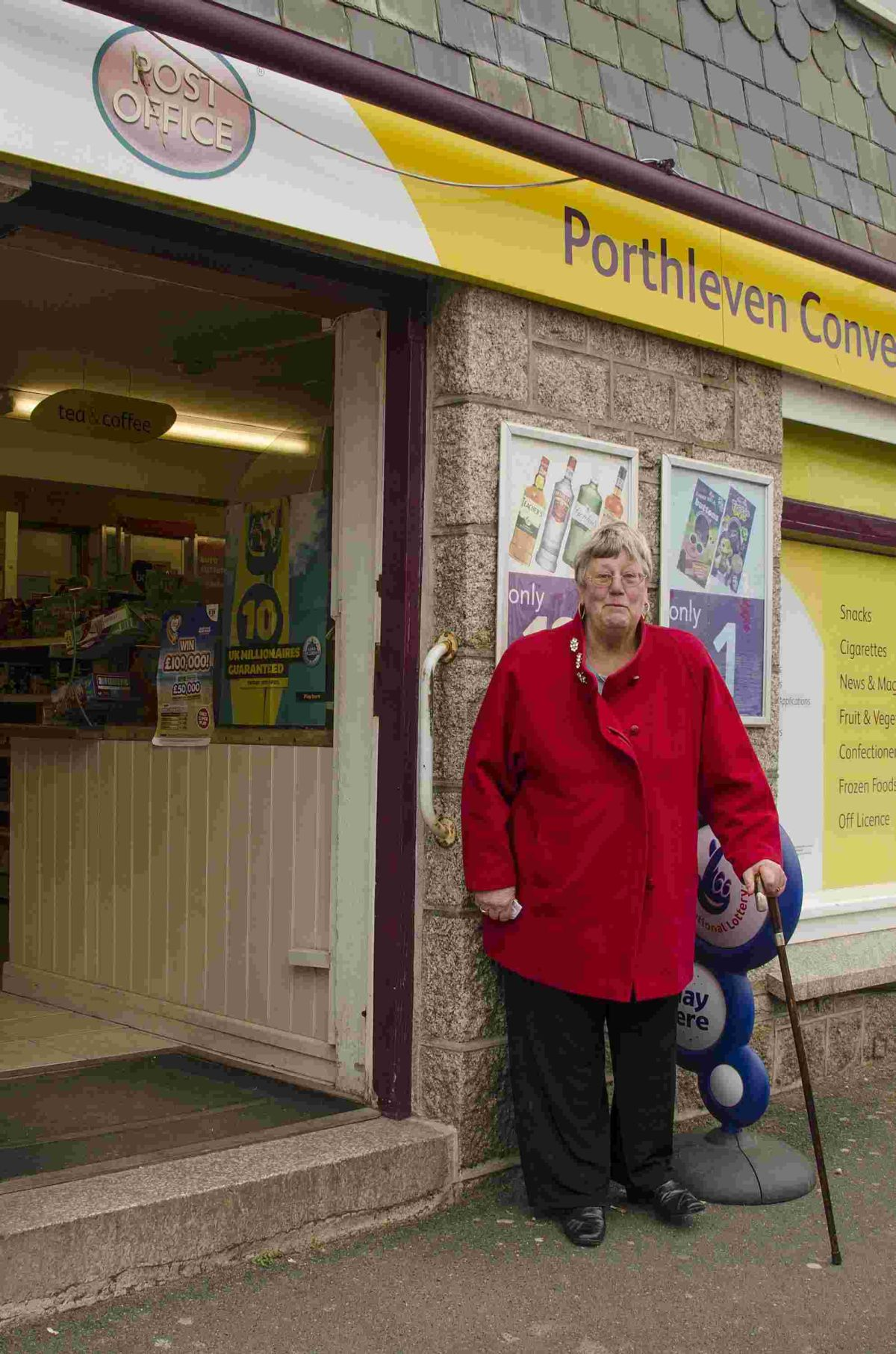 Porthleven's 'rudest' pensioner banned from picking up her pension