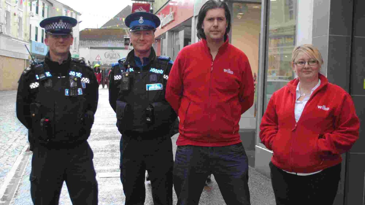 Falmouth police go undercover to help educate store owners
