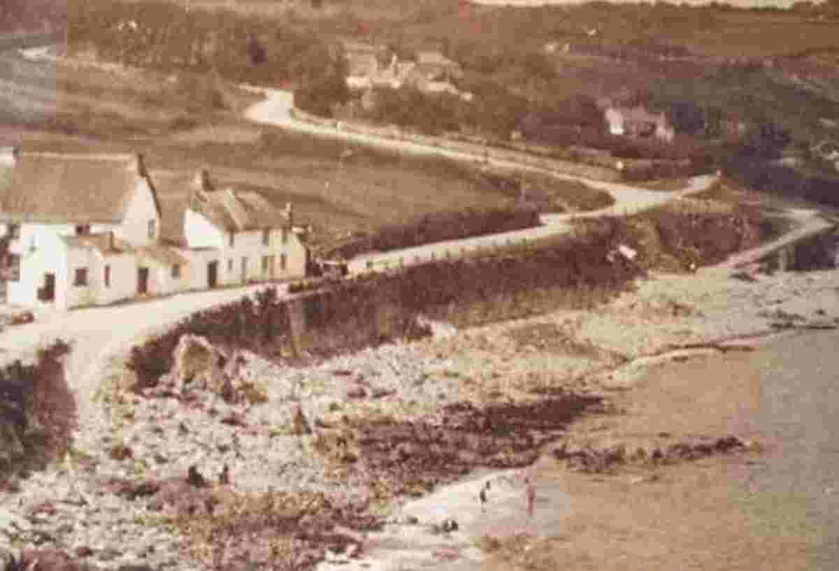 Look back in time: Pictures show Coverack ramp is nothing new