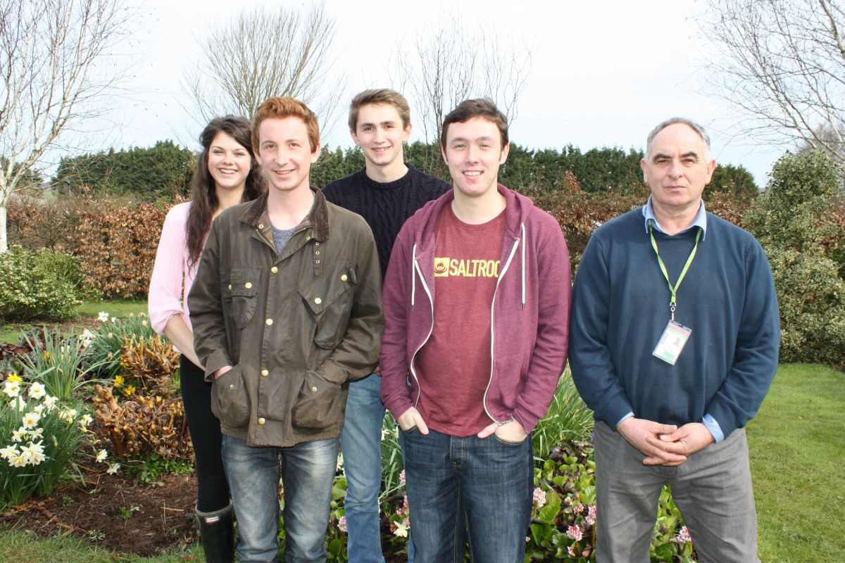 Royal university places for four Duchy College students
