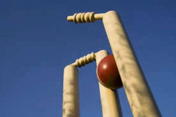 Falmouth Packet: CRICKET: Hat-trick time for Sam again