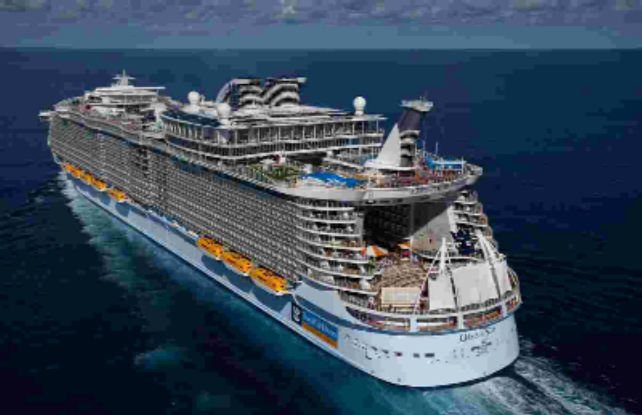 Royal Caribbean International's Oasis of the Seas is currently the world's largest cruise ship