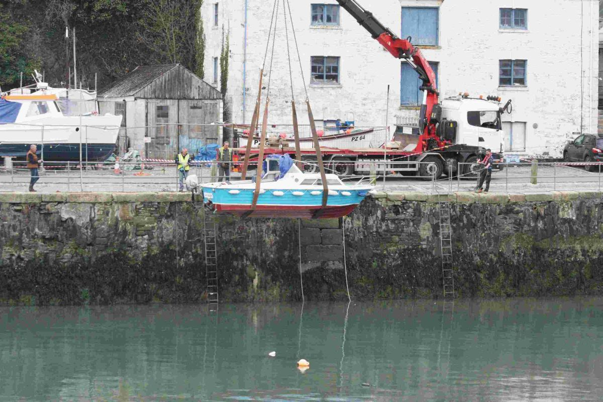 Happy day for port as boats return to harbour: FULL STORY