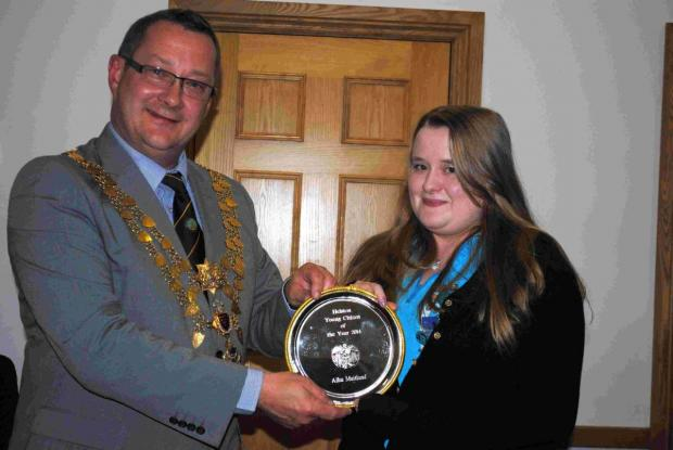 Aisla is Helston's young citizen of the year