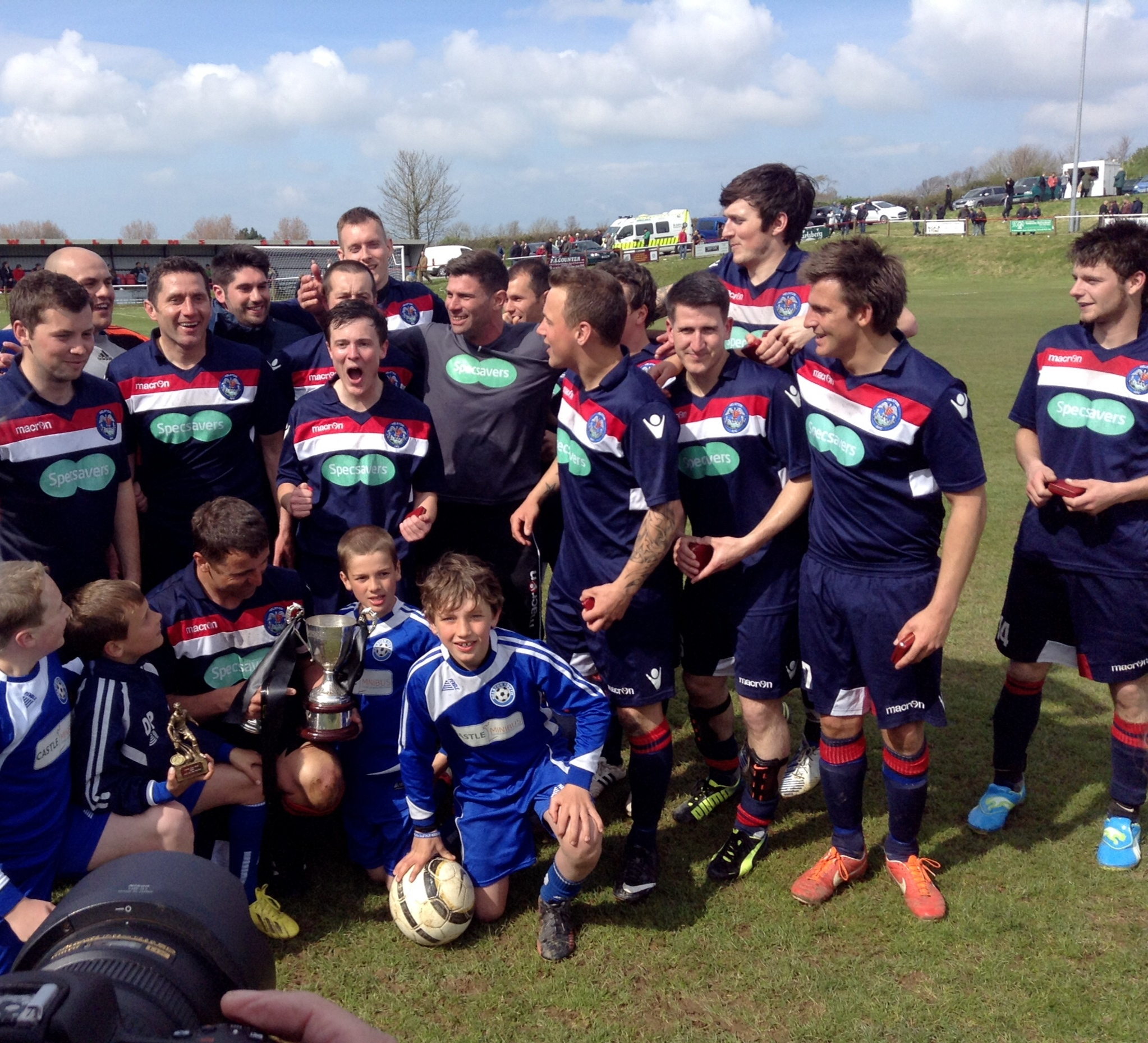 Helston stage second half fightback to claim Cornwall Junior Cup