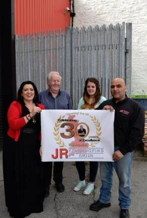 Redruth firm founded by former safe blower for the Krays celebrates 30 years in business